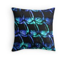 army of misfits blue Throw Pillow