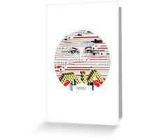 m.i.a. maya Greeting Card