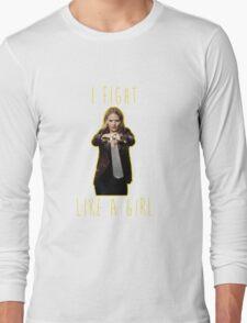 Emma Swan - I fight like a girl Long Sleeve T-Shirt