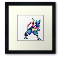 grninja Framed Print