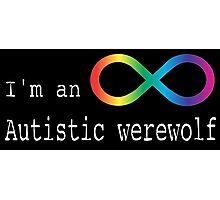 Autistic Werewolf Photographic Print