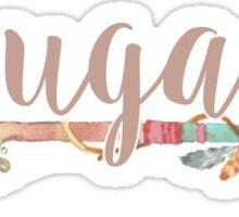 UGA Arrow Sticker