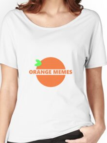 orange memes Women's Relaxed Fit T-Shirt