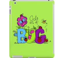 Cute as a Bug Insects iPad Case/Skin