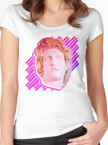 VAPORWAVE MAN  Women's Fitted Scoop T-Shirt