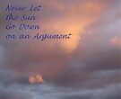 Sunset Sentiment by KazM