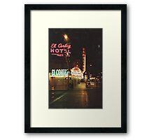 Vega Streets Framed Print