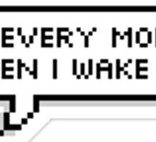 "GOT7 - BamBam ""I dab every morning when I wake up"" Sticker"