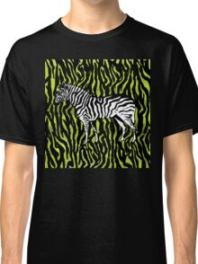 Zebra - animal colour pop art Classic T-Shirt