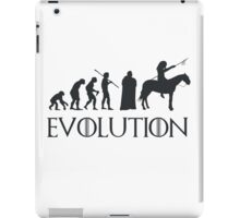Evolution Game of thrones iPad Case/Skin
