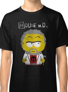 House MD in the style of South Park Classic T-Shirt