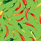 - Chilli pattern (green) - by Losenko  Mila