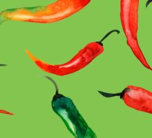 - Chilli pattern (green) - Sticker