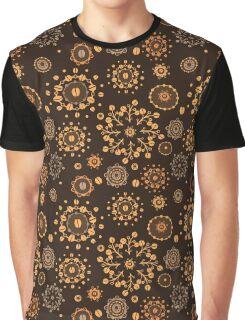 - Coffee pattern - black - Graphic T-Shirt