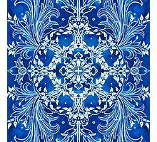 - Bright blue - Photographic Print