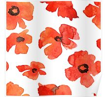 - Poppy pattern - Poster