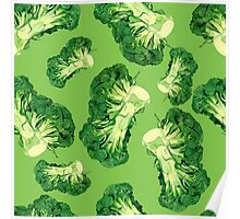 - Broccoli pattern (green) - Poster