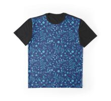 - Azure watercolor pattern (deep blue) -  Graphic T-Shirt