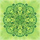 - Green Garden - by Losenko  Mila