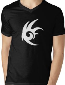 Shadow the Hedgehog Logo white Mens V-Neck T-Shirt
