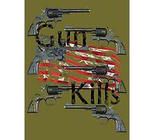 Gun kills America Photographic Print