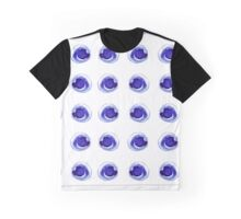 - Blue ink spots pattern - Graphic T-Shirt