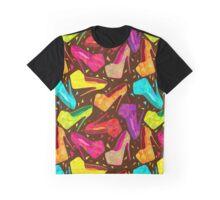 - Kaleidoscope shoes pattern - Graphic T-Shirt