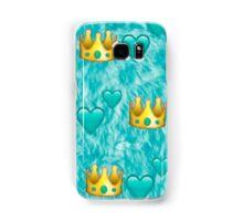emoji crown pattern Samsung Galaxy Case/Skin