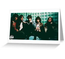 The Strokes Booth Poster  Greeting Card