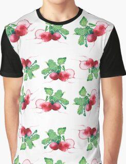 - Radish pattern (white) - Graphic T-Shirt