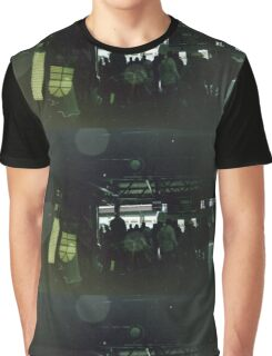 Green Inverted Graphic T-Shirt