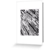 Black Marble (OG Painting) Greeting Card