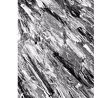 Black Marble (OG Painting) Photographic Print