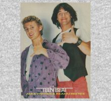 Bill and Ted Teen Beat cover Baby Tee