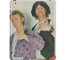 Bill and Ted Teen Beat cover iPad Case/Skin