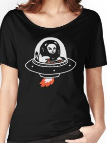 Alion Spaceship Women's Relaxed Fit T-Shirt