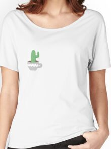 Cactus in Teacup Women's Relaxed Fit T-Shirt