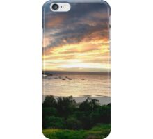 Sandringham yacht club sunset iPhone Case/Skin