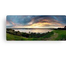 Sandringham yacht club sunset Canvas Print