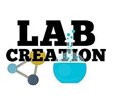 Lab Creation Science Themed Photographic Print