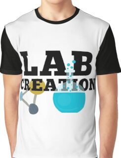 Lab Creation Science Themed Graphic T-Shirt