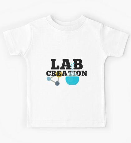 Lab Creation Science Themed Kids Tee