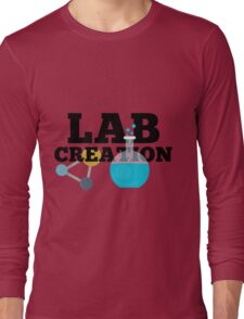 Lab Creation Science Themed Long Sleeve T-Shirt