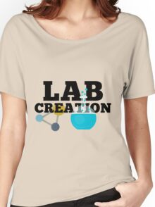 Lab Creation Science Themed Women's Relaxed Fit T-Shirt