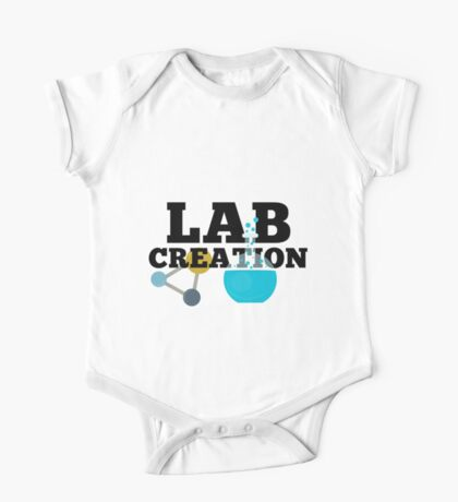 Lab Creation Science Themed One Piece - Short Sleeve