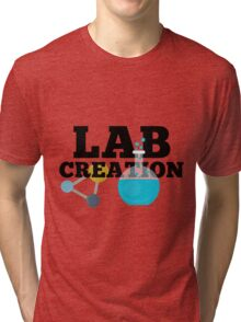 Lab Creation Science Themed Tri-blend T-Shirt