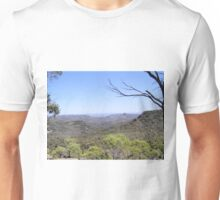 View from the High Tops, (1) Warrumbungle Nat. Park. N.S.W. Unisex T-Shirt
