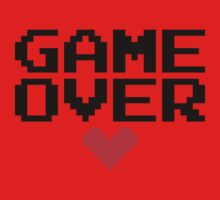 [White] Game Over My Love One Piece - Long Sleeve