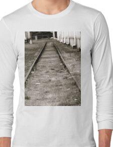 Tracks to Nowhere Long Sleeve T-Shirt