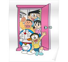 Doraemon and friends Poster